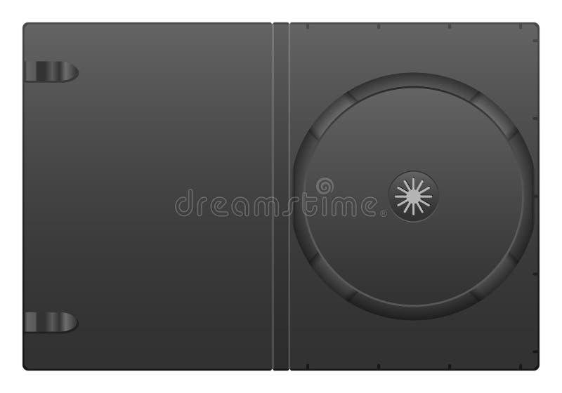 Dvd案件 库存例证