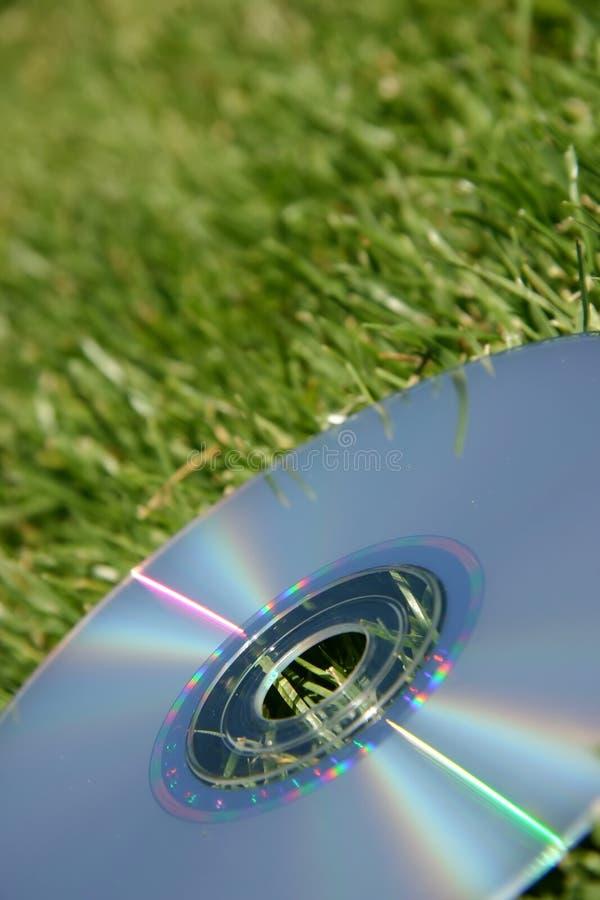 dvd πράσινο ασήμι χλόης στοκ φωτογραφίες με δικαίωμα ελεύθερης χρήσης