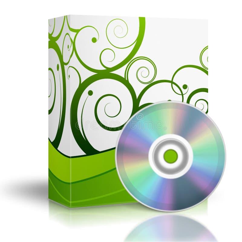 dvd коробки 3d бесплатная иллюстрация