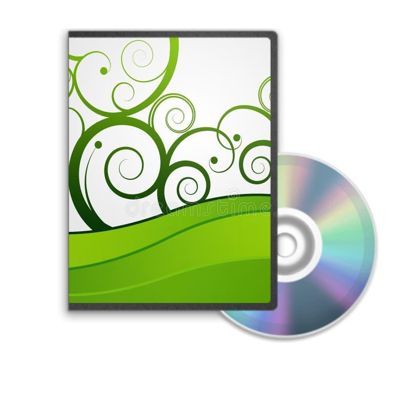 dvd коробки иллюстрация штока