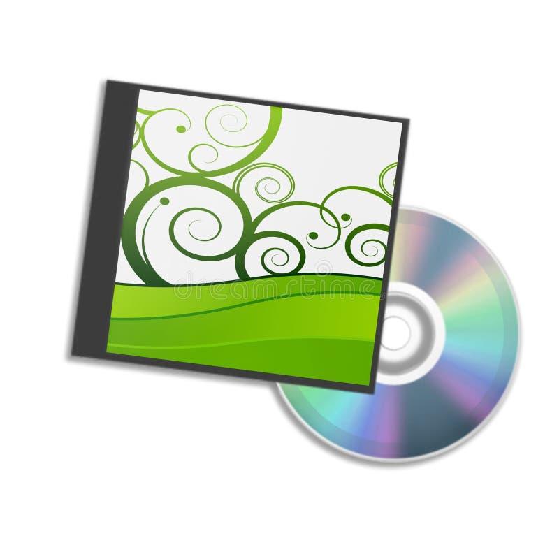 dvd коробки иллюстрация вектора
