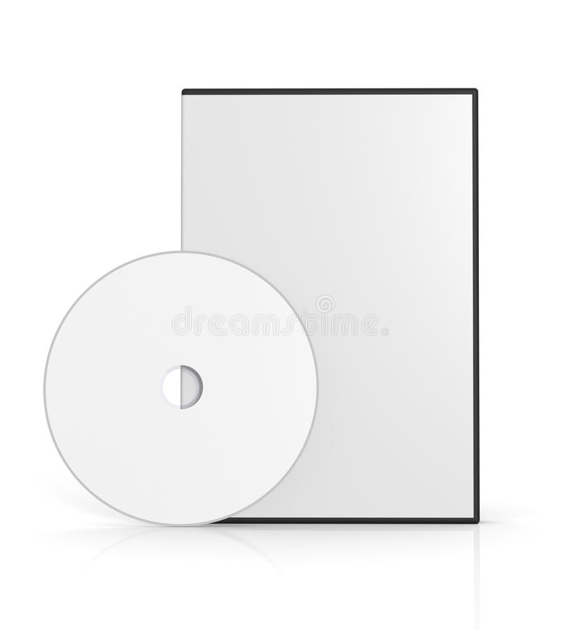 dvd случая иллюстрация штока