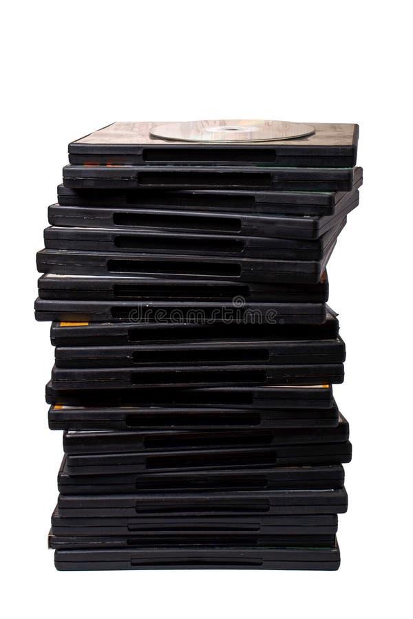 dvd стоковое изображение
