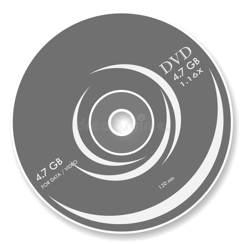 DVD stock de ilustración