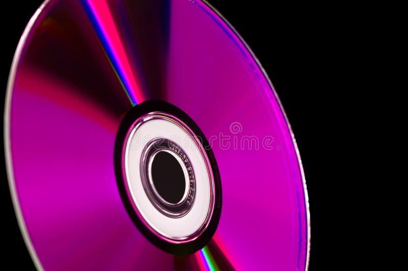 dvd błękitny komputerowy talerzowy promień obrazy royalty free