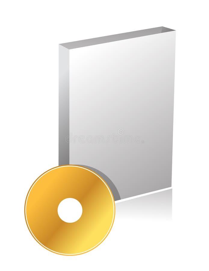 DVD case and disc illustration