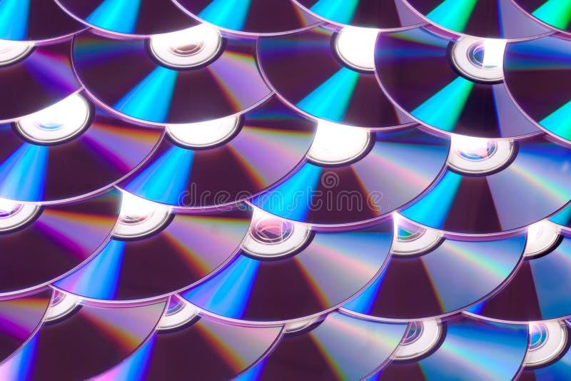 Dvd Cd imagen de archivo libre de regalías