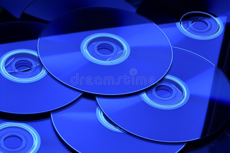 DVD CD stock images