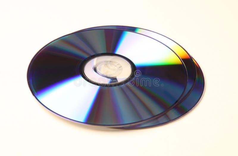 DVD_CD fotografia de stock royalty free