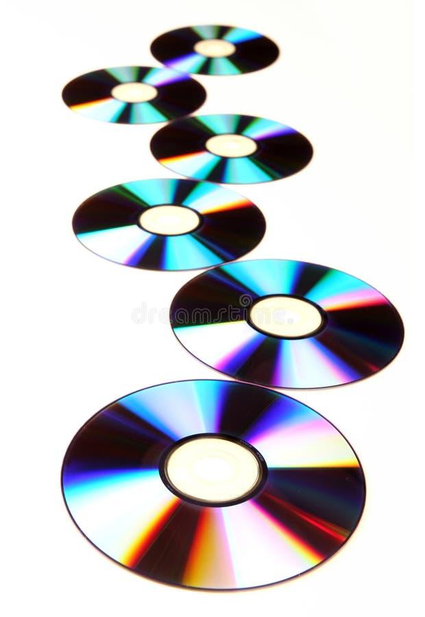 dvd cd image stock