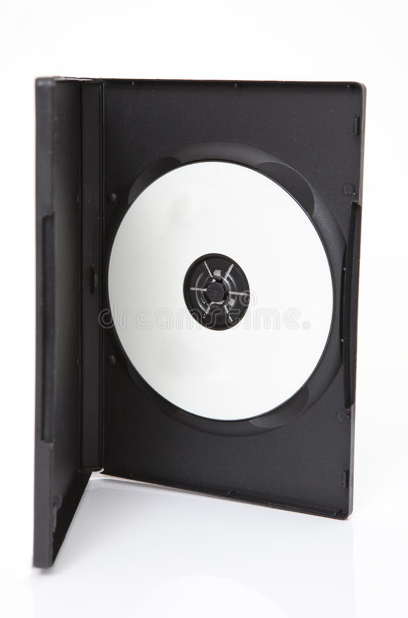 Download Dvd Cd Case With Blank Media Stock Photo - Image: 10321910