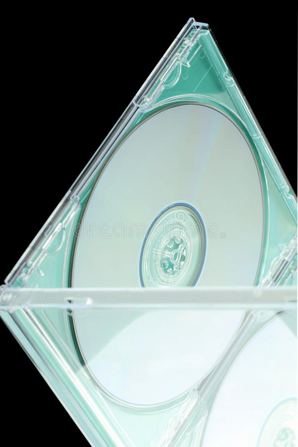 DVD-CD stojak fotografia royalty free