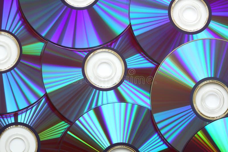 Dvd del disco compacto fotografía de archivo libre de regalías