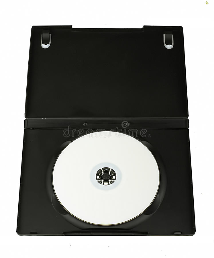 DVD disc royalty free stock image