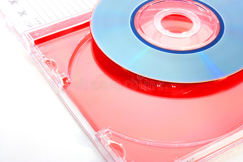 Download Dvd disc stock image. Image of isolated, blank, color - 7128261