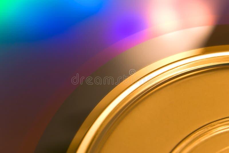 DVD-disco. Macro imagenes de archivo