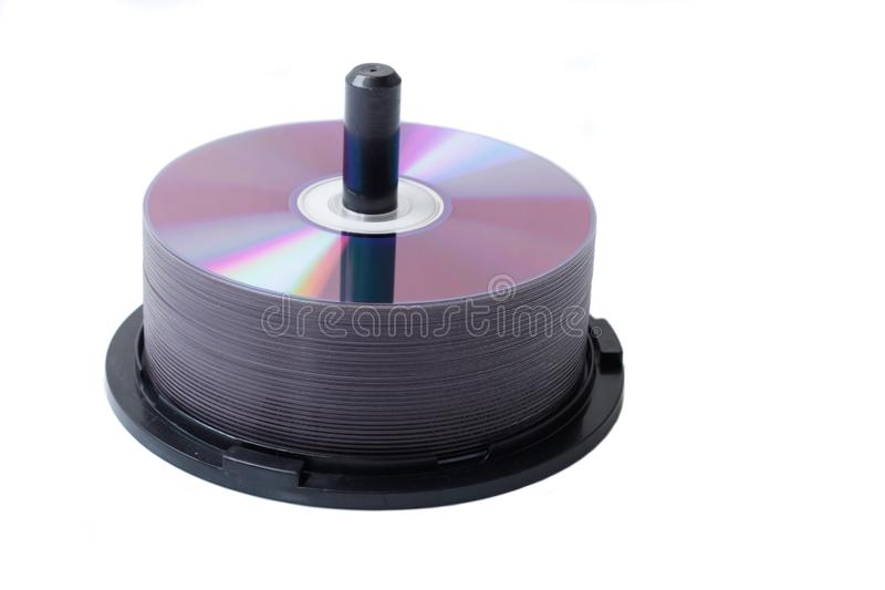 Download DVD discs stock photo. Image of color, copy, isolated - 9711484