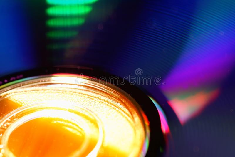 DVD disk blur