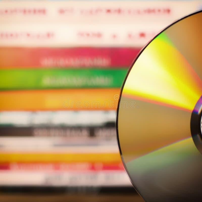 DVD-disketter arkivfoto