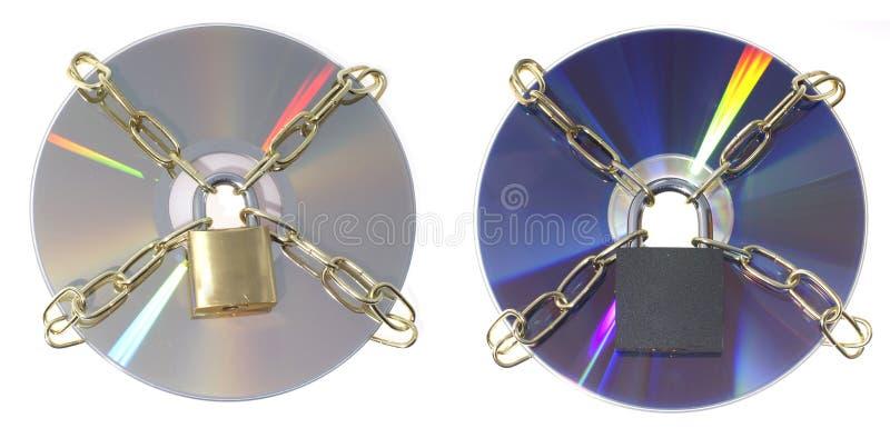 DVD disks stock photos