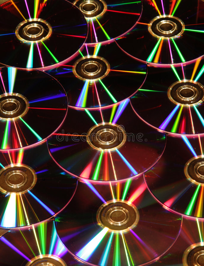 Download DVD disks reflections stock photo. Image of disc, bytes - 2747396