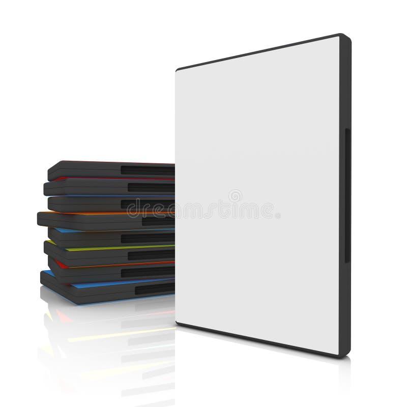 DVD Fall lizenzfreie abbildung