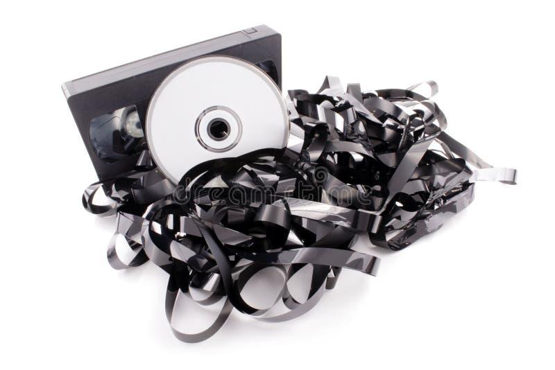 DVD-Film lizenzfreie stockfotografie