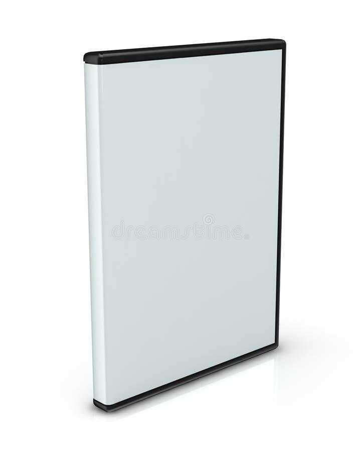 DVD oder CD Kasten stock abbildung