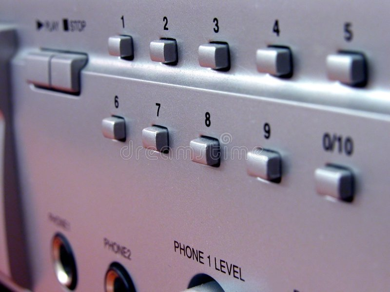 Download DVD panel stock photo. Image of loud, input, sockets, right - 2084