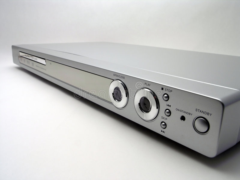Download DVD player - 4 stock photo. Image of receiver, electronics - 1715632