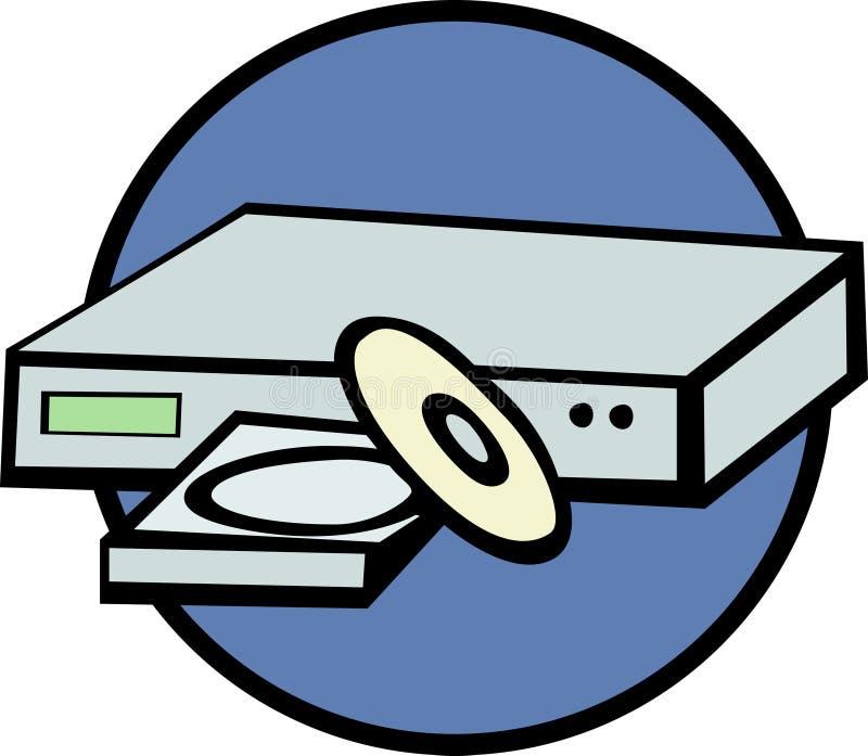 dvd player vector illustration stock vector illustration of player rh dreamstime com dvd cover clipart dvd clip art free