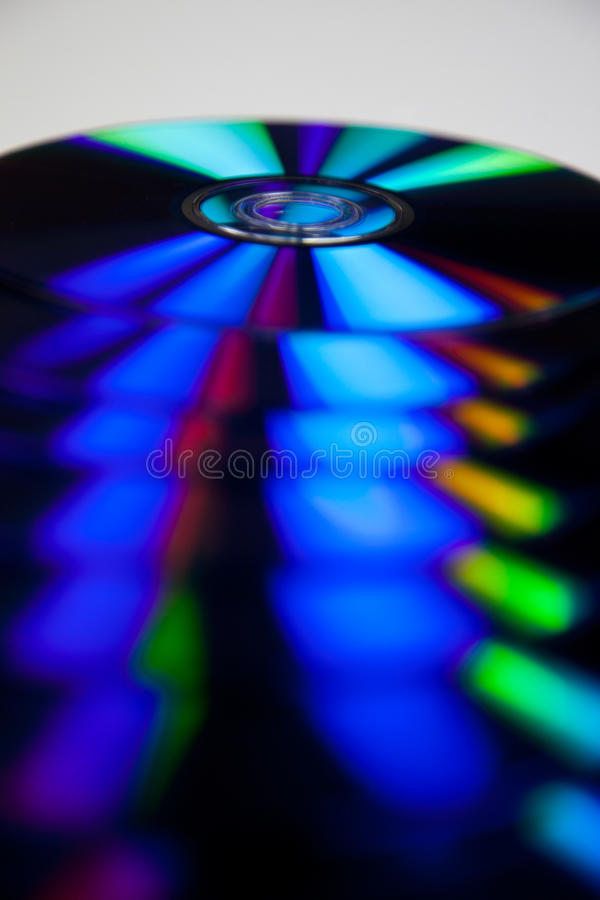 DVD przechowywania danych środek zdjęcie royalty free