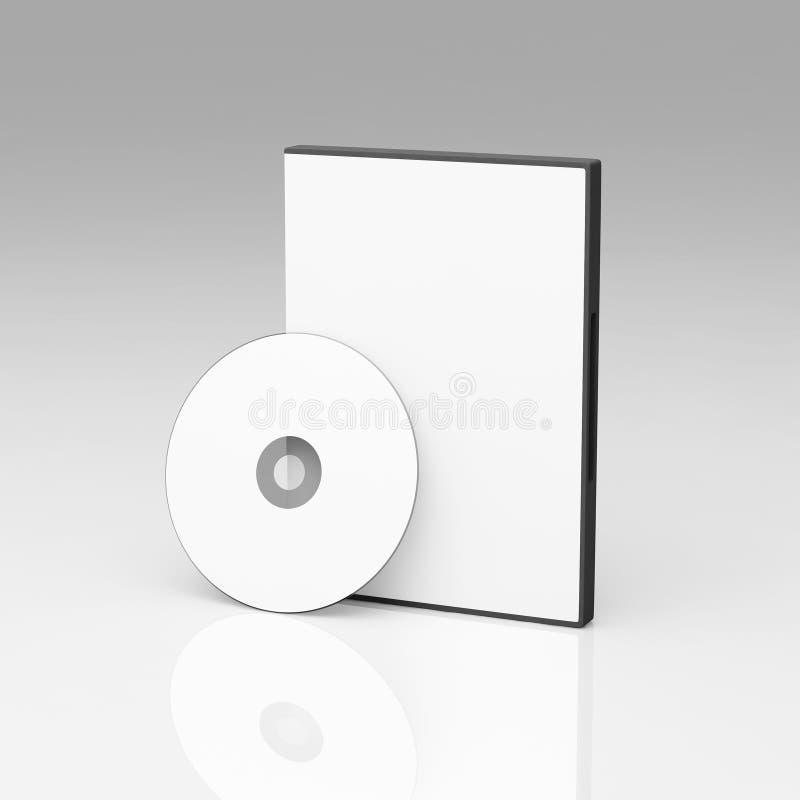 DVD pusta skrzynka royalty ilustracja