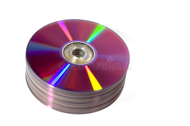 DVD-R photo libre de droits
