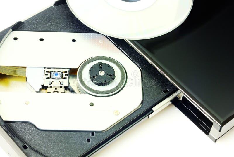 DVD recorder closeup stock images