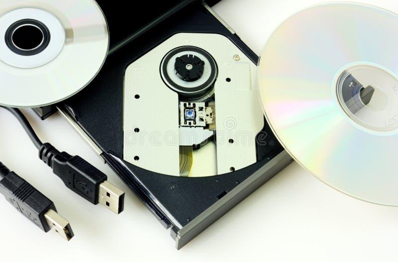 DVD-registreringsapparat  arkivbild