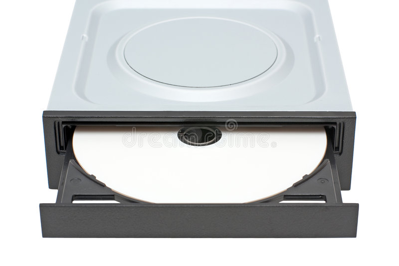 Download DVD-ROM drive with disk stock image. Image of data, cdrom - 8955541