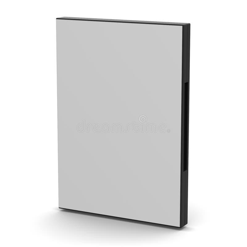 DVD skrzynka - puste miejsce ilustracja wektor