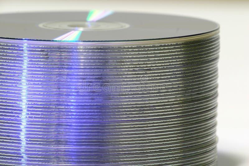 DVD Stapel stockbilder