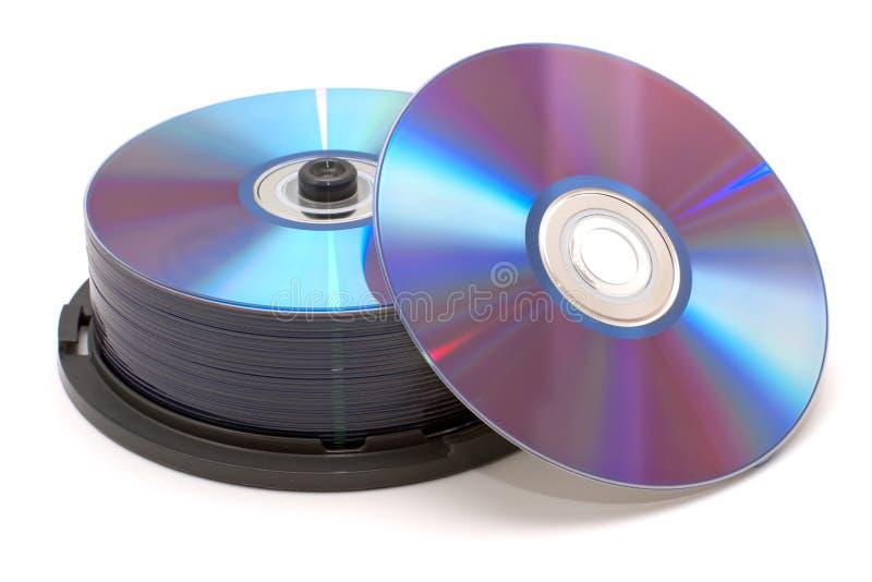 dvds堆 免版税库存照片