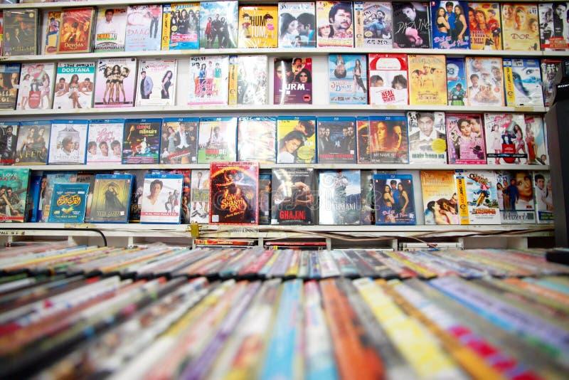 DVDs Redactionele Afbeelding
