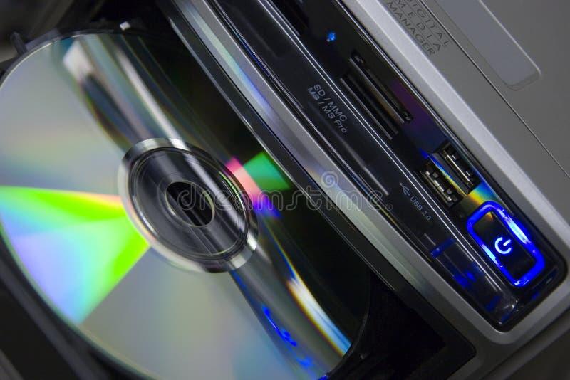 dvdspelare arkivfoto