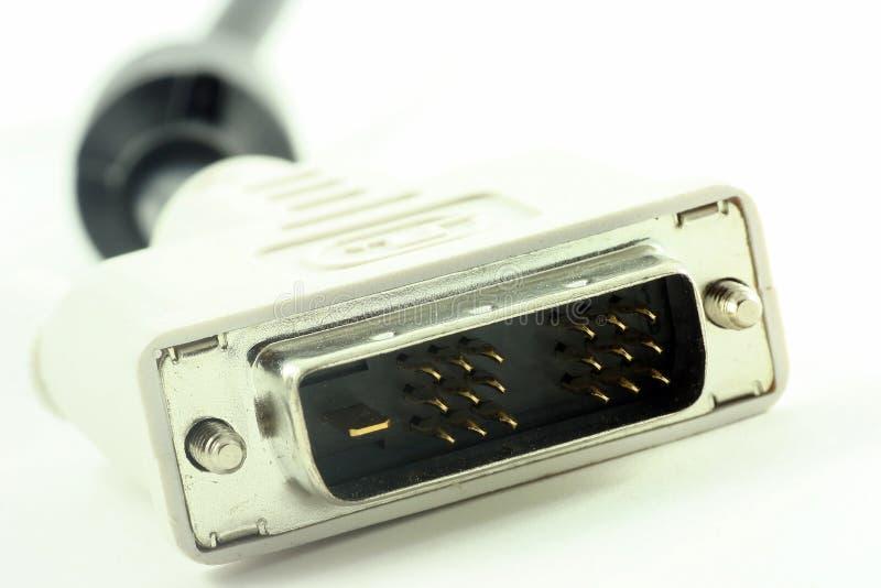 dvi кабеля стоковые изображения rf