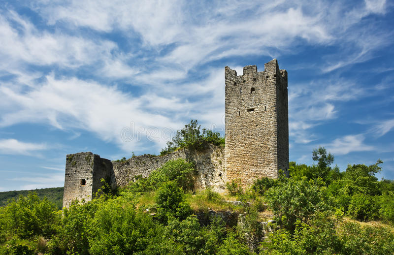 Dvigrad, Croatia stock images