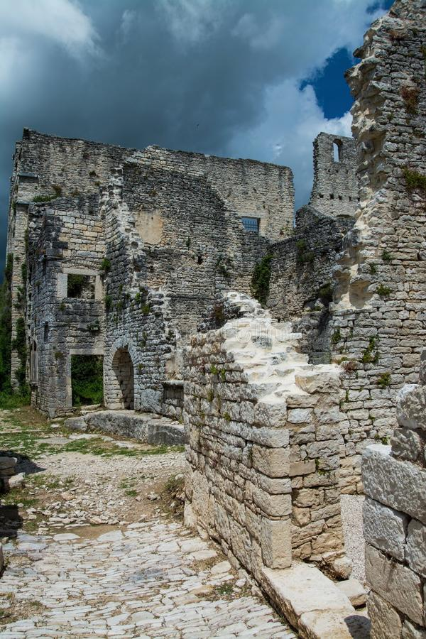 Dvigrad, Istria, Хорватия стоковое фото rf