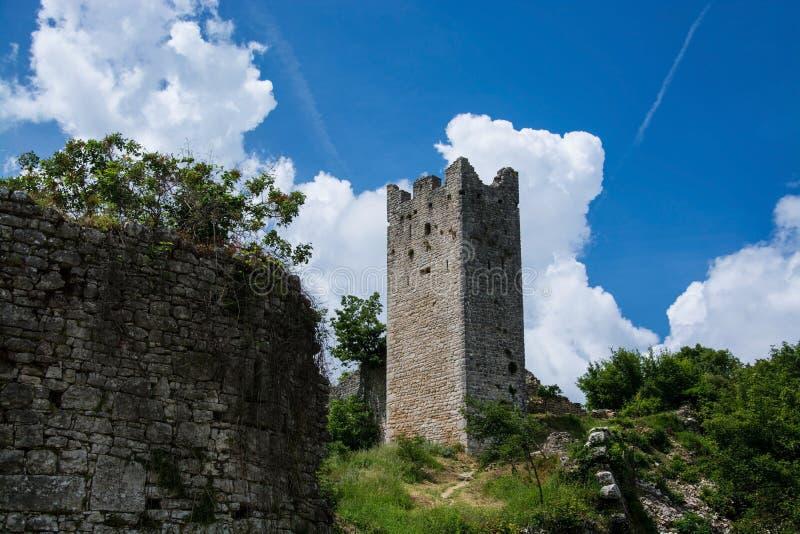 Dvigrad, Istria, Хорватия стоковая фотография rf