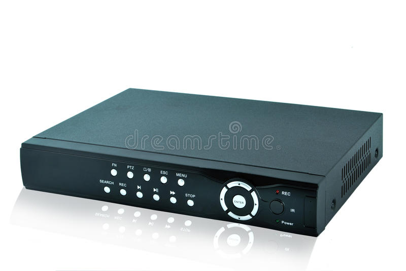 DVR Recorder Royalty Free Stock Photos