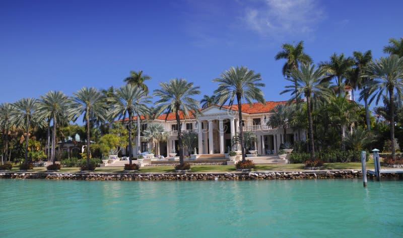 dwór Miami fotografia royalty free