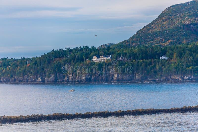 Dwór na wybrzeżu Nad Prętowy schronienie obrazy stock