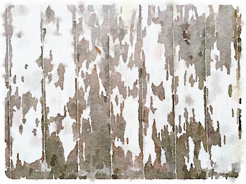 DW白色木被绘的背景 库存照片